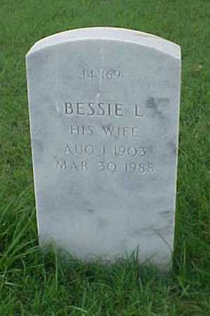VANDERPOOL, BESSIE L. - Pulaski County, Arkansas | BESSIE L. VANDERPOOL - Arkansas Gravestone Photos