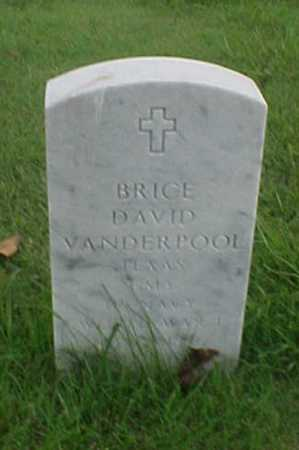 VANDERPOOL (VETERAN WWI), BRICE DAVID - Pulaski County, Arkansas | BRICE DAVID VANDERPOOL (VETERAN WWI) - Arkansas Gravestone Photos