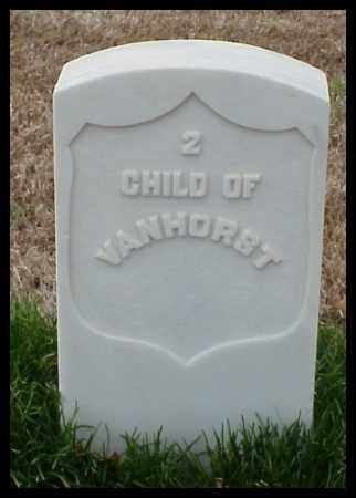 VANHORST, CHILD - Pulaski County, Arkansas | CHILD VANHORST - Arkansas Gravestone Photos
