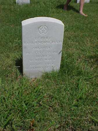 VANLANDINGHAM (VETERAN WWI), EGBERT - Pulaski County, Arkansas | EGBERT VANLANDINGHAM (VETERAN WWI) - Arkansas Gravestone Photos