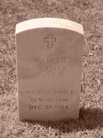 VARNER (VETERAN WWI), WALTER - Pulaski County, Arkansas | WALTER VARNER (VETERAN WWI) - Arkansas Gravestone Photos
