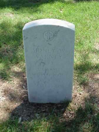 VARNEY (VETERAN WWI), SIDNEY W - Pulaski County, Arkansas | SIDNEY W VARNEY (VETERAN WWI) - Arkansas Gravestone Photos