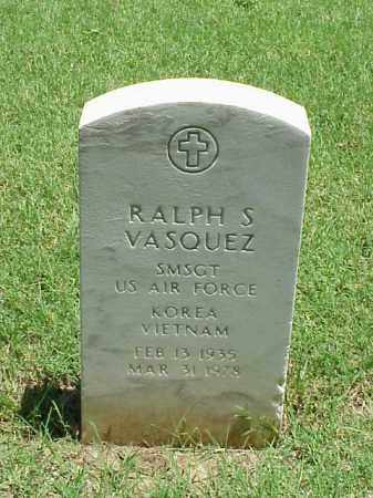 VASQUEZ (VETERAN 2 WARS), RALPH S - Pulaski County, Arkansas | RALPH S VASQUEZ (VETERAN 2 WARS) - Arkansas Gravestone Photos