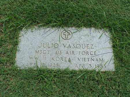 VASQUEZ (VETERAN 3 WARS), JULIO - Pulaski County, Arkansas | JULIO VASQUEZ (VETERAN 3 WARS) - Arkansas Gravestone Photos