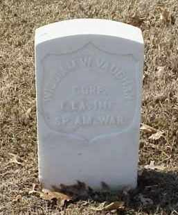 VAUGHAN  (VETERAN SAW), WILLIAM W - Pulaski County, Arkansas | WILLIAM W VAUGHAN  (VETERAN SAW) - Arkansas Gravestone Photos