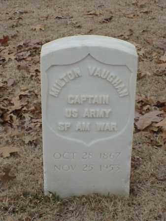 VAUGHAN (VETERAN SAW), MILTON - Pulaski County, Arkansas | MILTON VAUGHAN (VETERAN SAW) - Arkansas Gravestone Photos