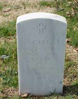 VAULT, CARL - Pulaski County, Arkansas | CARL VAULT - Arkansas Gravestone Photos