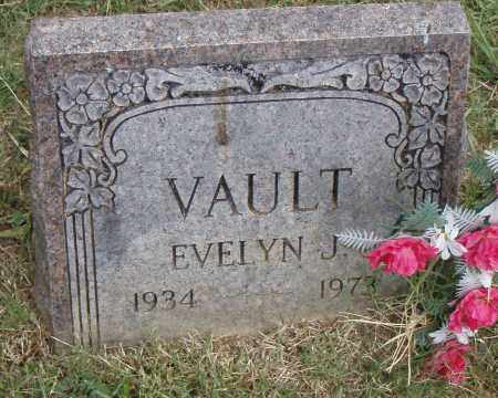 VAULT, EVELYN  J. - Pulaski County, Arkansas | EVELYN  J. VAULT - Arkansas Gravestone Photos