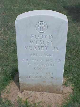 VEASEY, JR (VETERAN KOR), FLOYD WESLEY - Pulaski County, Arkansas | FLOYD WESLEY VEASEY, JR (VETERAN KOR) - Arkansas Gravestone Photos