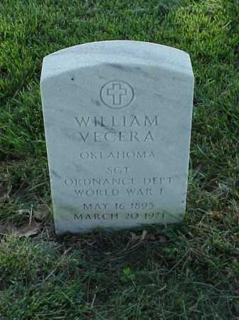 VECERA (VETERAN WWI), WILLIAM - Pulaski County, Arkansas | WILLIAM VECERA (VETERAN WWI) - Arkansas Gravestone Photos