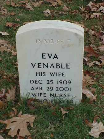 VENABLE, EVA - Pulaski County, Arkansas | EVA VENABLE - Arkansas Gravestone Photos