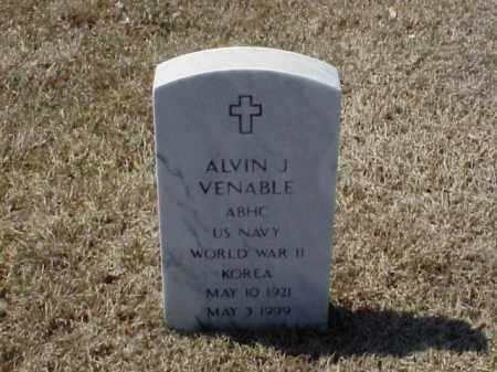 VENABLE (VETERAN 2 WARS), ALVIN J - Pulaski County, Arkansas   ALVIN J VENABLE (VETERAN 2 WARS) - Arkansas Gravestone Photos