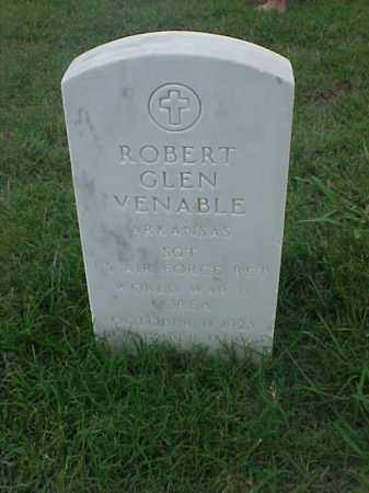 VENABLE (VETERAN 2 WARS), ROBERT GLEN - Pulaski County, Arkansas | ROBERT GLEN VENABLE (VETERAN 2 WARS) - Arkansas Gravestone Photos