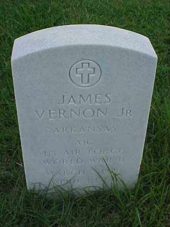 VERNON, JR (VETERAN 2 WARS), JAMES - Pulaski County, Arkansas | JAMES VERNON, JR (VETERAN 2 WARS) - Arkansas Gravestone Photos