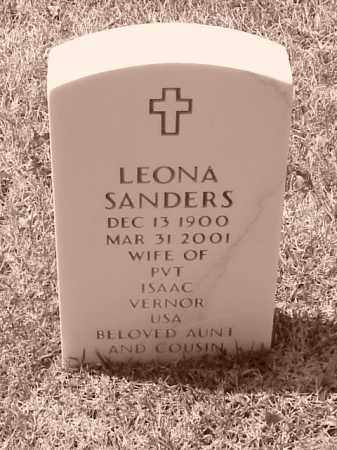 VERNOR, LEONA - Pulaski County, Arkansas | LEONA VERNOR - Arkansas Gravestone Photos