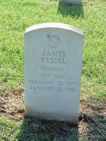 VESSEL (VETERAN), JAMES - Pulaski County, Arkansas | JAMES VESSEL (VETERAN) - Arkansas Gravestone Photos