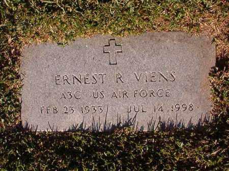 VIENS (VETERAN), ERNEST R - Pulaski County, Arkansas | ERNEST R VIENS (VETERAN) - Arkansas Gravestone Photos