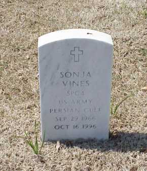 VINES (VETERAN PGW), SONJA - Pulaski County, Arkansas | SONJA VINES (VETERAN PGW) - Arkansas Gravestone Photos