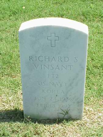 VINSANT (VETERAN KOR), RICHARD S - Pulaski County, Arkansas | RICHARD S VINSANT (VETERAN KOR) - Arkansas Gravestone Photos