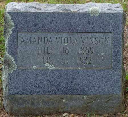 VINSON, AMANDA VIOLA - Pulaski County, Arkansas | AMANDA VIOLA VINSON - Arkansas Gravestone Photos