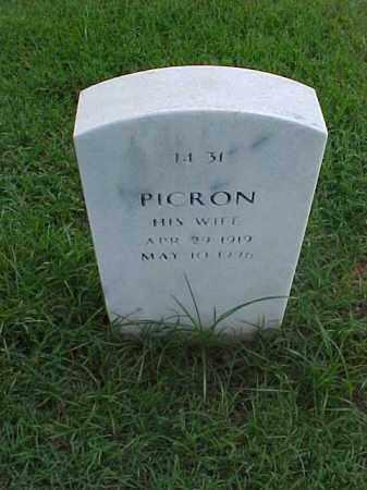 VINSON, PICRON - Pulaski County, Arkansas | PICRON VINSON - Arkansas Gravestone Photos