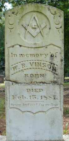 VINSON, W.B. - Pulaski County, Arkansas | W.B. VINSON - Arkansas Gravestone Photos