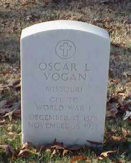 VOGAN (VETERAN WWI), OSCAR L - Pulaski County, Arkansas | OSCAR L VOGAN (VETERAN WWI) - Arkansas Gravestone Photos