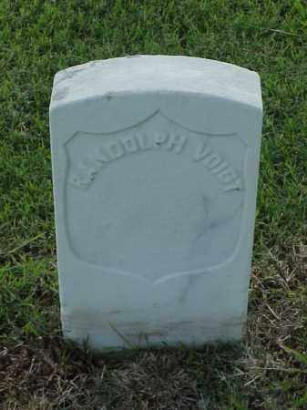VOIGT (VETERAN UNION), RANDOLPH - Pulaski County, Arkansas | RANDOLPH VOIGT (VETERAN UNION) - Arkansas Gravestone Photos