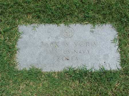 VORIS (VETERAN KOR), JACK W - Pulaski County, Arkansas | JACK W VORIS (VETERAN KOR) - Arkansas Gravestone Photos