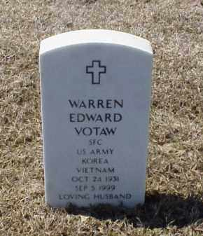 VOTAW (VETERAN 2 WARS), WARREN EDWARD - Pulaski County, Arkansas | WARREN EDWARD VOTAW (VETERAN 2 WARS) - Arkansas Gravestone Photos