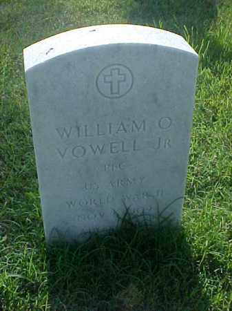 VOWELL, JR (VETERAN WWII), WILLIAM O - Pulaski County, Arkansas | WILLIAM O VOWELL, JR (VETERAN WWII) - Arkansas Gravestone Photos