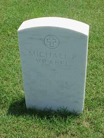 VRABEL (VETERAN WWII), MICHAEL P - Pulaski County, Arkansas | MICHAEL P VRABEL (VETERAN WWII) - Arkansas Gravestone Photos