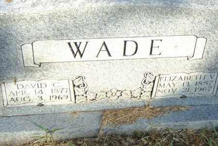 WADE, DAVID C - Pulaski County, Arkansas | DAVID C WADE - Arkansas Gravestone Photos