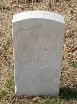 WADE (VETERAN), WILLIAM - Pulaski County, Arkansas | WILLIAM WADE (VETERAN) - Arkansas Gravestone Photos