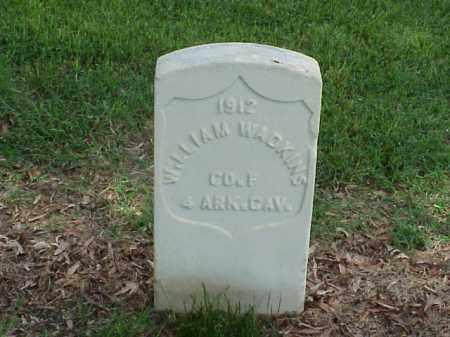WADKINS (VETERAN UNION), WILLIAM - Pulaski County, Arkansas | WILLIAM WADKINS (VETERAN UNION) - Arkansas Gravestone Photos