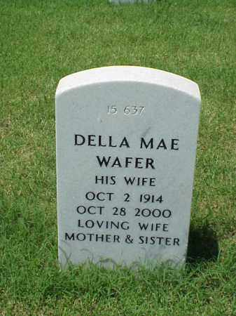 WAFER, DELLA MAE - Pulaski County, Arkansas | DELLA MAE WAFER - Arkansas Gravestone Photos