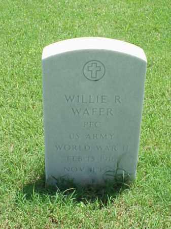 WAFER (VETERAN WWII), WILLIE R - Pulaski County, Arkansas | WILLIE R WAFER (VETERAN WWII) - Arkansas Gravestone Photos