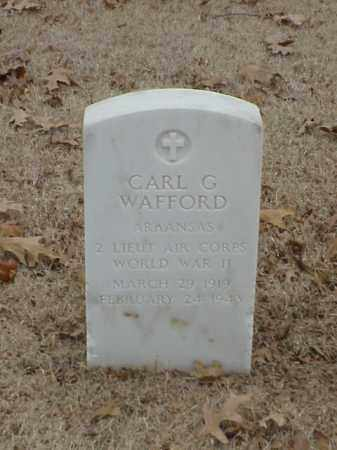 WAFFORD (VETERAN WWII), CARL G - Pulaski County, Arkansas | CARL G WAFFORD (VETERAN WWII) - Arkansas Gravestone Photos