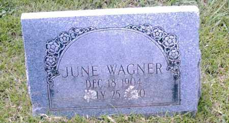 WAGNER, JUNE - Pulaski County, Arkansas | JUNE WAGNER - Arkansas Gravestone Photos