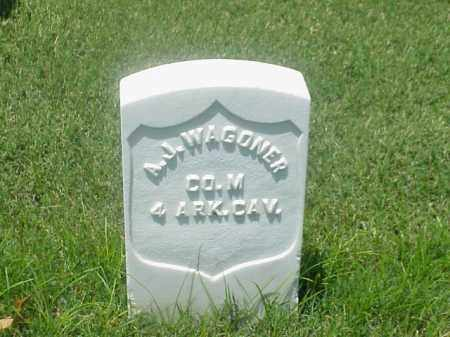 WAGONER (VETERAN UNION), A J - Pulaski County, Arkansas | A J WAGONER (VETERAN UNION) - Arkansas Gravestone Photos