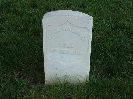 WAGONER (VETERAN UNION), JOHN - Pulaski County, Arkansas | JOHN WAGONER (VETERAN UNION) - Arkansas Gravestone Photos
