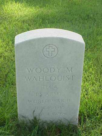 WAHLQUIST (VETERAN WWII), WOODY M - Pulaski County, Arkansas | WOODY M WAHLQUIST (VETERAN WWII) - Arkansas Gravestone Photos