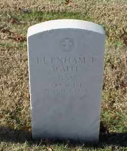 WAITE (VETERAN), BURNHAM B - Pulaski County, Arkansas | BURNHAM B WAITE (VETERAN) - Arkansas Gravestone Photos
