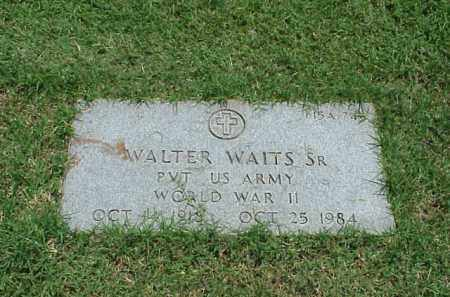 WAITS, SR (VETERAN WWII), WALTER - Pulaski County, Arkansas | WALTER WAITS, SR (VETERAN WWII) - Arkansas Gravestone Photos
