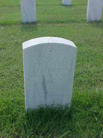 WAKELAND (VETERAN WWI), RICHARD HARRY - Pulaski County, Arkansas | RICHARD HARRY WAKELAND (VETERAN WWI) - Arkansas Gravestone Photos