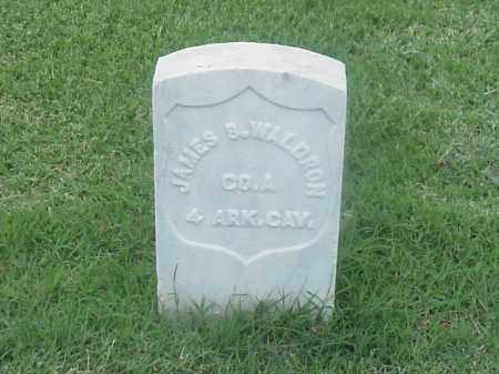 WALDRON (VETERAN UNION), JAMES B - Pulaski County, Arkansas | JAMES B WALDRON (VETERAN UNION) - Arkansas Gravestone Photos
