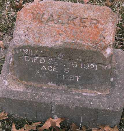 WALKER, -OSLE- - Pulaski County, Arkansas | -OSLE- WALKER - Arkansas Gravestone Photos