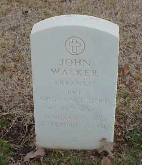 WALKER  (VETERAN WWI), JOHN - Pulaski County, Arkansas | JOHN WALKER  (VETERAN WWI) - Arkansas Gravestone Photos