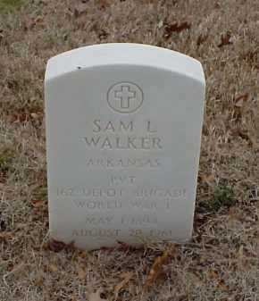 WALKER  (VETERAN WWI), SAM L - Pulaski County, Arkansas | SAM L WALKER  (VETERAN WWI) - Arkansas Gravestone Photos