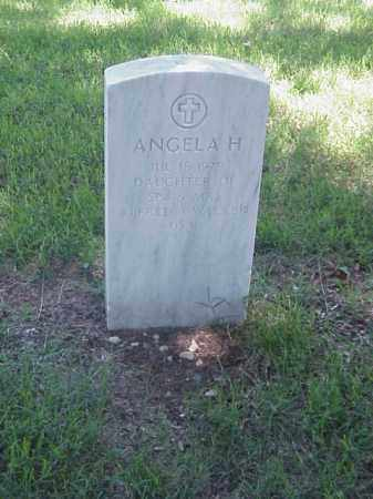 WALKER, ANGELA H - Pulaski County, Arkansas | ANGELA H WALKER - Arkansas Gravestone Photos
